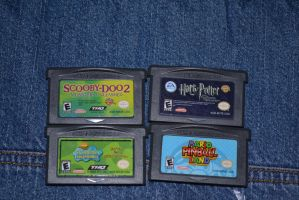 New Gameboy games i got by Jaws1996