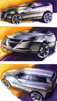Saab SUV concept final by TonyWcK