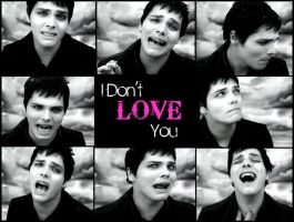 Gerard Way - I Don't Love You by AmeliaKader