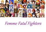 Femme Fatal Fighters by strayokatoknight