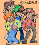 The Gang 8^) by CookiemonsterMS