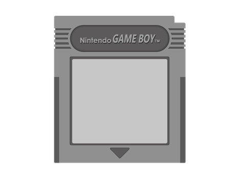Game Boy Cartridge Vector by The-Desert-Tiger
