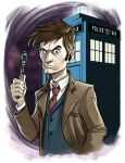 10th Doctor by MechaBennett