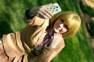 Prison School Cosplay - Selfie Perfectionist by KendraKei