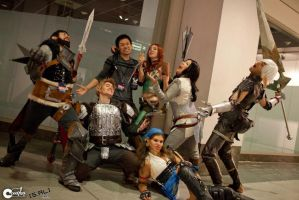 Dragon Age Group by Ligers-mane