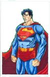 Superman Original Colored Art - For Sale by ThorThomas