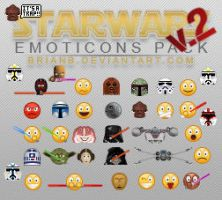 Star Wars Emoticons Pack v.2 by brianb