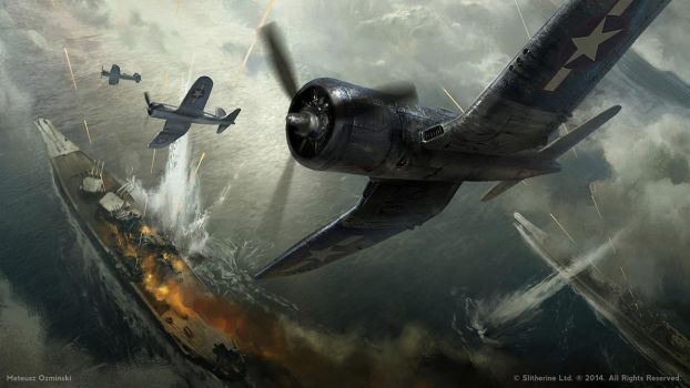 Pacific War by artozi