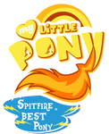 Fanart - MLP. My Little Pony Logo - Spitfire by jamescorck