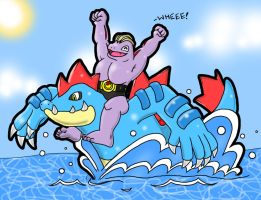 Machoke Surf by CatchShiro