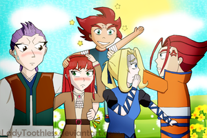 Beyblade OC: Family Photo... Almost by LadyToothless