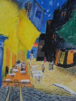 Van Gogh - Cafe Terrace at Night by iGeneral