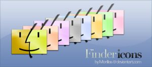Finder Icons by Morillas