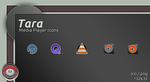 Tara Media Player icon by vi20RickrMetal12us