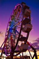 Sunset Wheel by BonaFideChimp