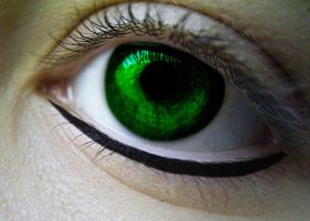 Emerald Eyes by LoverofFiction