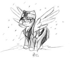 Snowbow Dash by leadhooves