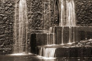 Watchung Waterfall by Keith-D