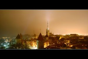Night in the Old Tallinn 3 by juri13139