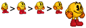 SSB4 PAC-MAN (Re(Re(Re)))Sprite by Lisnovski