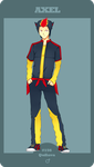 PokeTown - Ficha Axel by AdryJustend