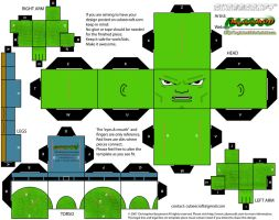 Savage Dragon cubee by MysterMDD