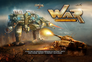 War Inc. Game Splash by nasar-ullah-khan