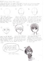 Manga School: Drawing Guys Faces Part 1 by Ani-maiden369