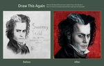 Draw this again: Sweeney Todd by Drimr