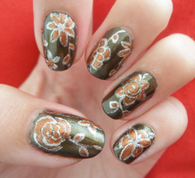 Vintage Nail Art by xRixt