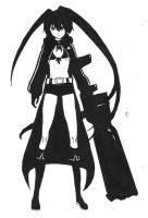 Black Rock Shooter by XRans