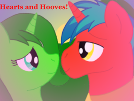 Hearts and Hooves by RedHoofsketch