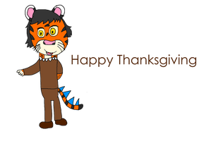 Happy Thanksgiving from me by ManticoreWarrior21