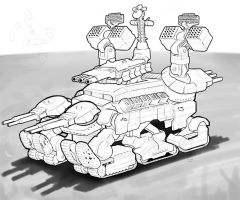 Mamoth Tank WIP by Legato895