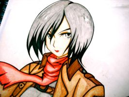 Mikasa Ackerman by Red-Himekatto