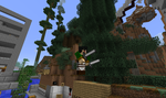Getting my Survey Corps on in MC by 8bloodpetals