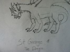 St. George and the Dragon by kate131