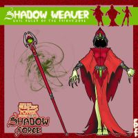 my Shadow Weaver concept by OctobersDream