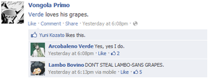 verde loves grapes .khr fb. by Its-Terian