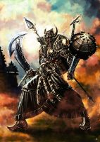 Ravaan,King of Alengka by cric