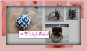 Pied-de-Poul Collection: Ring by ReddyBirdMadGirl