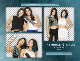 Pack Png 377: Kendall and Kylie Jenner by BraveHearts-PNGS