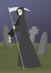 Monsters of Myth and Legend - Grim Reaper by Juliefan21