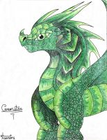 Greenstar- Snoopyetta by ScarlietNight
