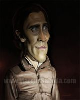 Jake Gyllanhaal caricature by Jubhubmubfub