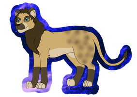 Lion Design CE by The-Smile-Giver