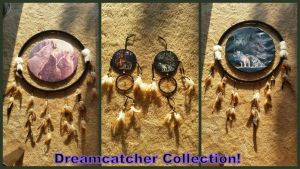 Dreamcatcher Collection! by Vesperwolfy87