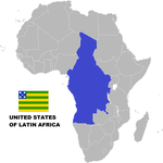 United States of Latin Africa by 3D4D