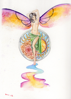 water butterfly by luxi-masquerade