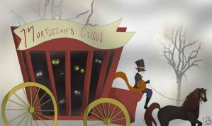 Mortician's Circus. CONTEST ENTRY by Blademic